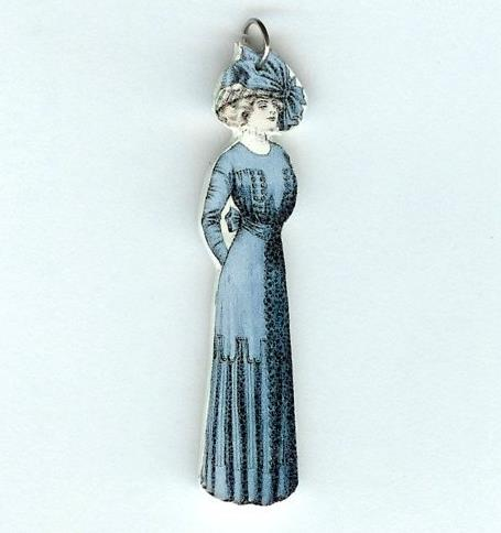 Edwardian Woman Pendant