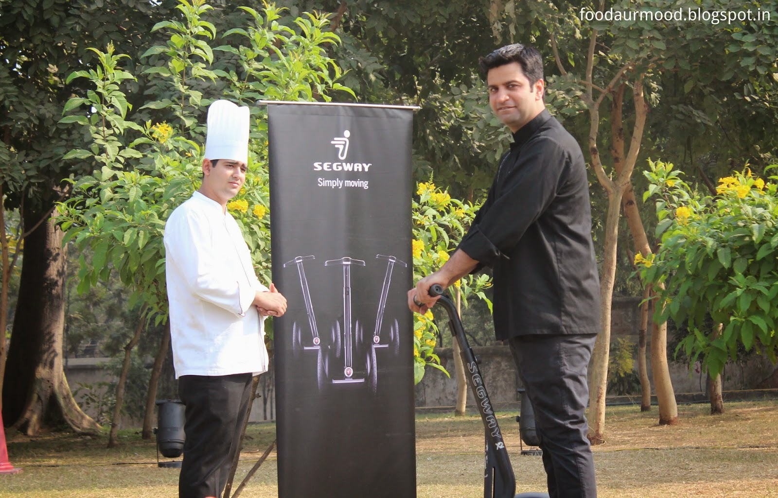 chef kunal kapoor, segway, food festival