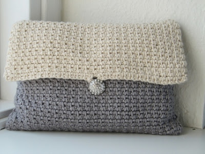 free crochet clutch pattern