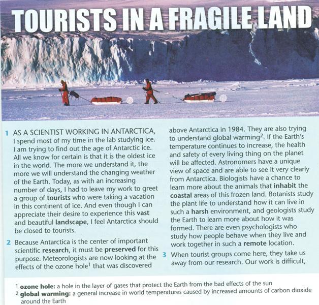 ecotourism in antarctica essay