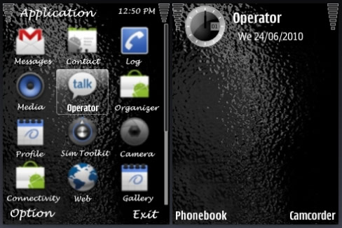 Android Theme : Android Style Menu