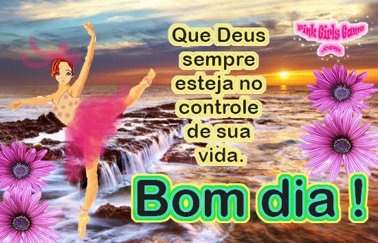 Pink Girls Game Linda Frase De Bom Dia Para Status