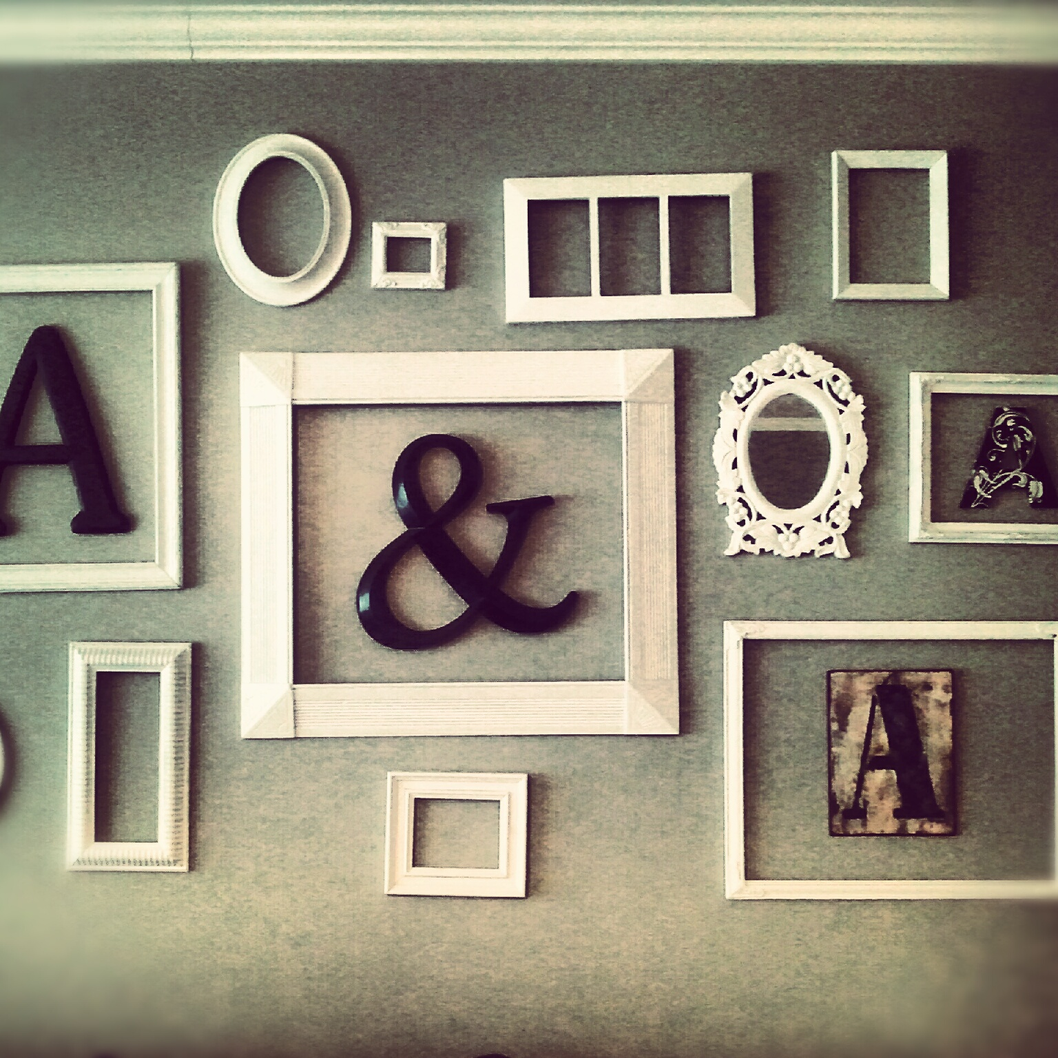 diy frame collage