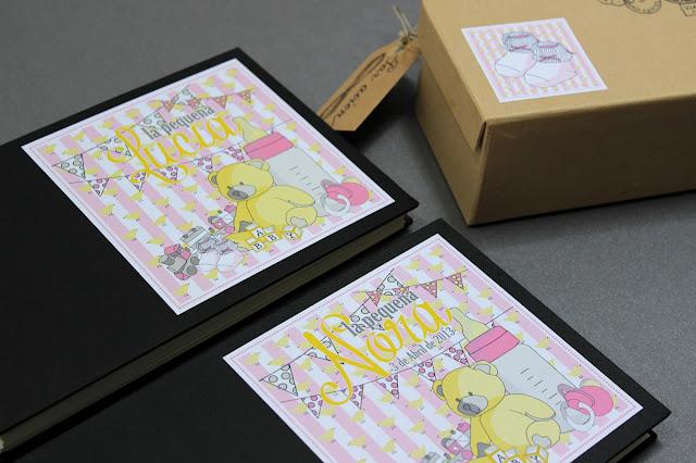 bebés kit para guardar recuerdos hermanas bolena