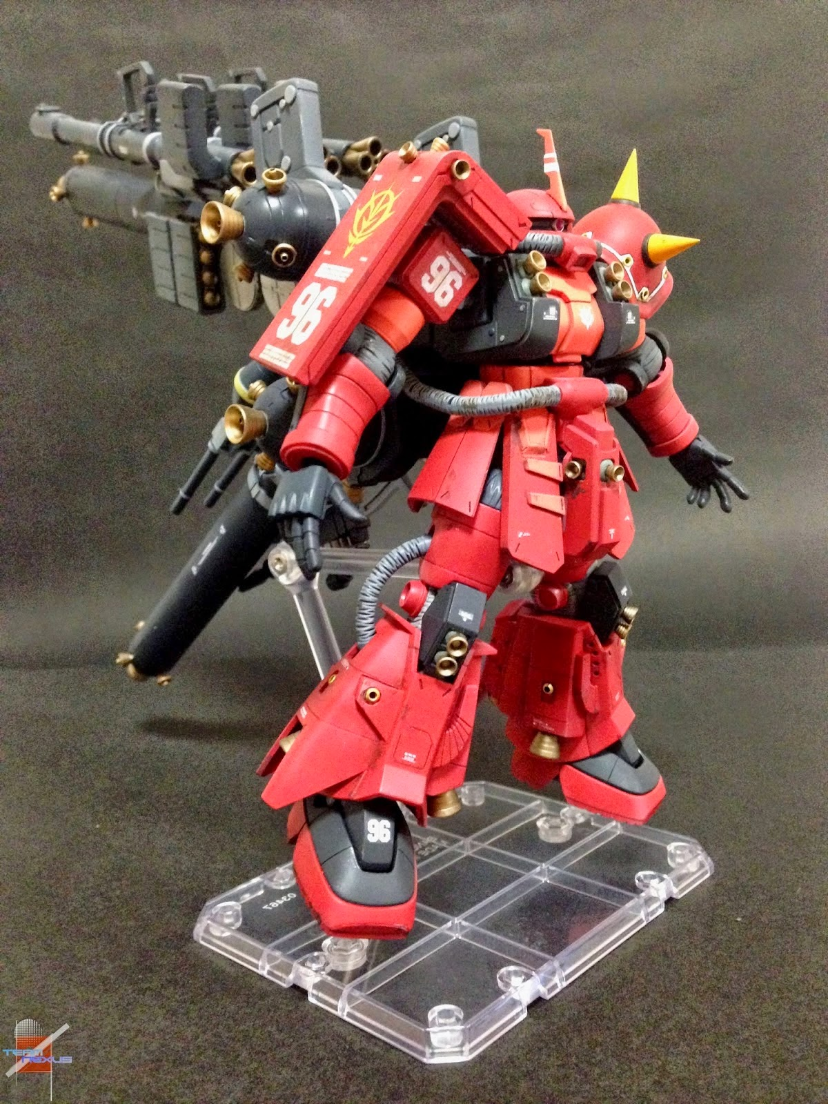1/144 HG MS-06R Psycho Zaku VerThunderbolt by FURU-X3photo