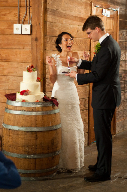 Just look at Gloria and Ryan 39s beautiful wedding day I love all the rustic
