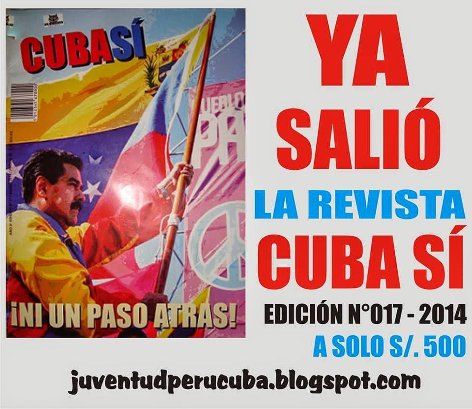 YA SALIO LA REVISTA CUBA SÍ