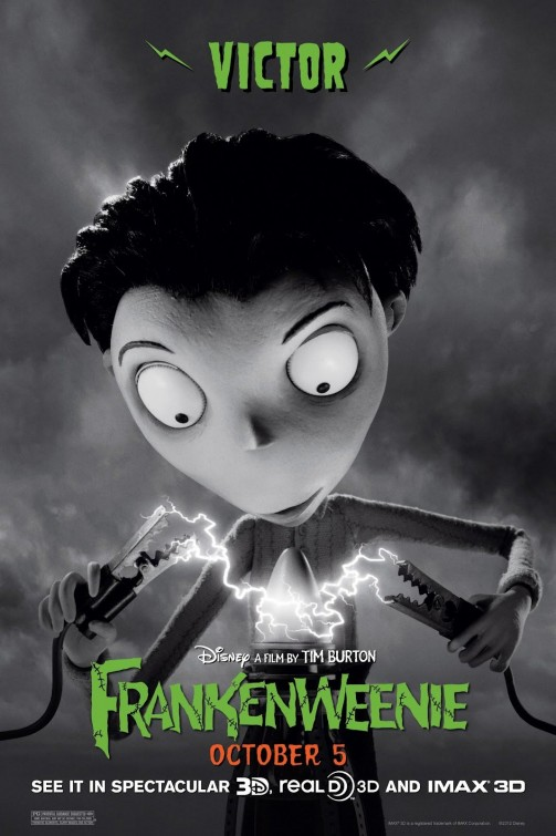 Frankenweenie Victor movie poster