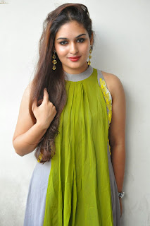 Actress Prayaga Martin Latest Picture Gallery at Pisachi Movie Success Meet 023.JPG