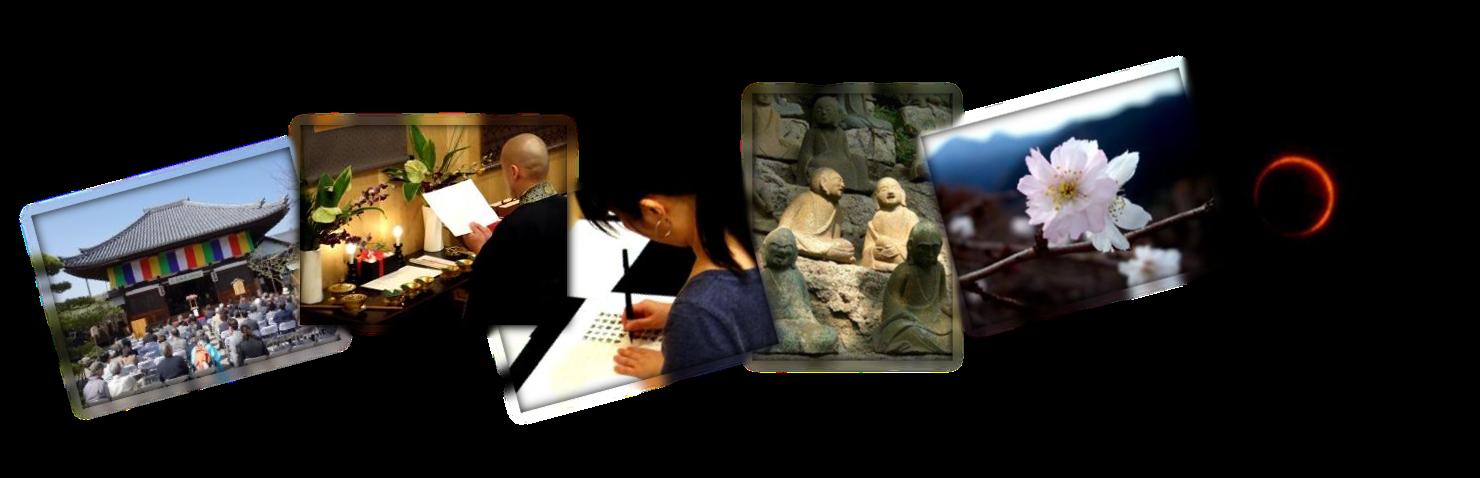 Activities towards enlightenment in Japan.