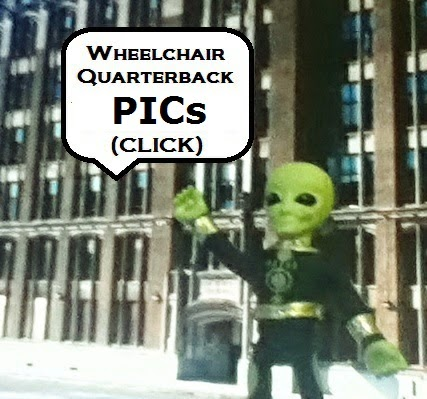 A WHEELCHAIR QUARTERBACK