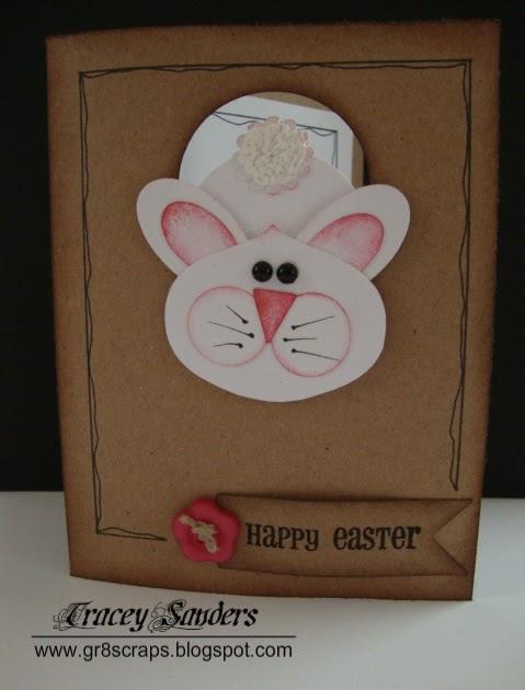 gr8scraps  easter bunny card