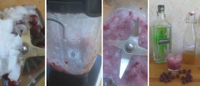 Zubereitung Stachelbeer-Holunderblüten-Gin-Drink