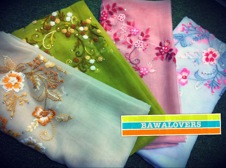 •BAWALOVERS•Tudung Bawal & Scarf ™: preview for tonight
