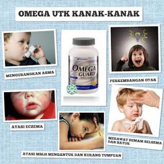 Manfaat Omega Untuk Anak