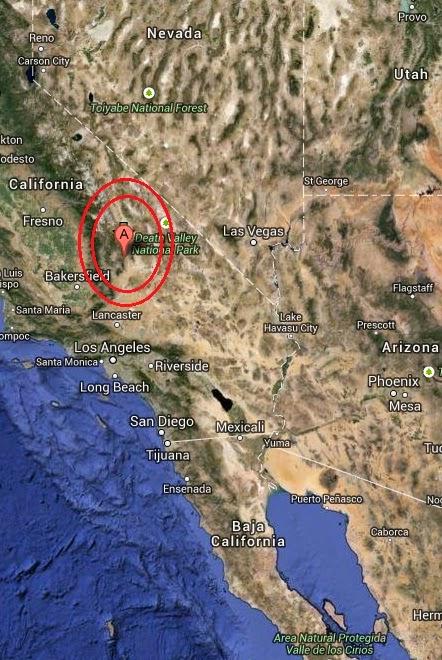 Magnitude 3.2 Earthquake of Inyokern, California 2014-09-15