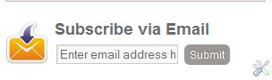 "Email Subscription Form"" to Blogger Blogspot"
