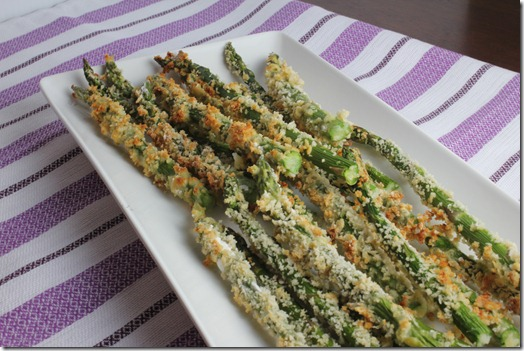 Easy Asparagus Fries