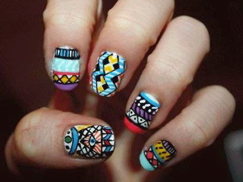 Different nail designs for short nails