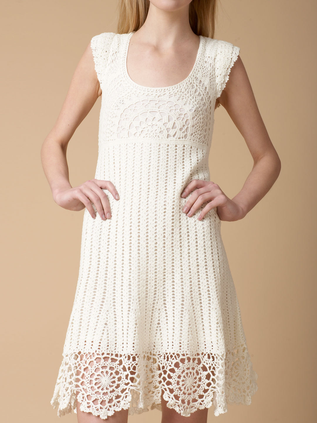 Crochet Clothing : Enchanted Crochet Dress