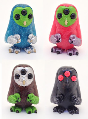 Mini Scowl Resin Figures by Motorbot