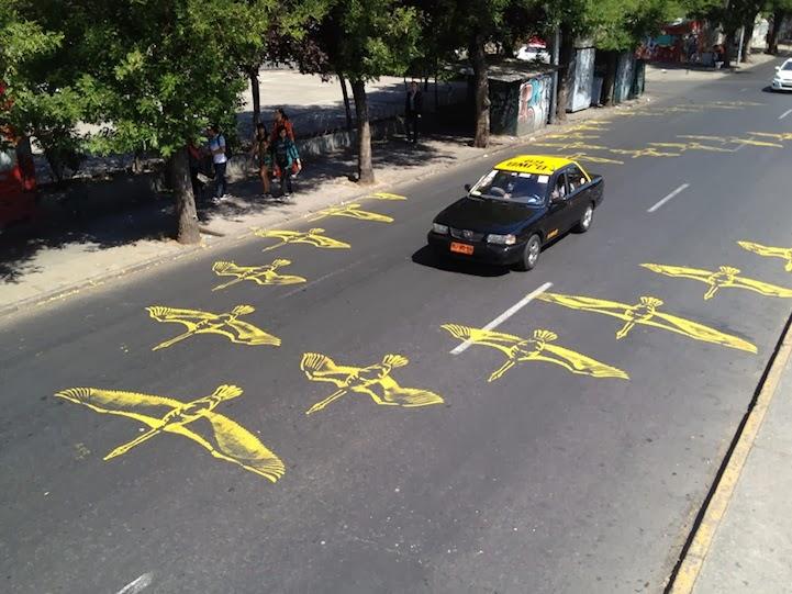 Street Art - Pintando sobre el Asfalto 30