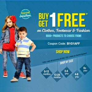 Buy Clothes, Footwear, Fashion at Flat 25% off & 40% Cashback  at Firstcry : BuyToEarn