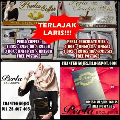 PERLA CHOCOLATE MILK, PERLA COFFEE, PERLA EXCLUSIVE 100% ORIGINAL