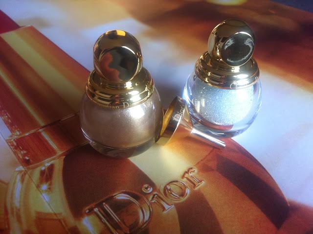 DIOR Natale 2013 Golden Winter Collection make up Diorific vernis Diorific Duo Manicure Bijou smalti
