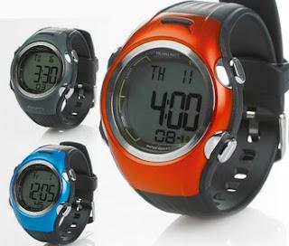 Zegarek sportowy z pulsometrem Biedronka