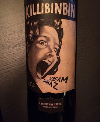 Killibinbin Scream Shiraz Wine