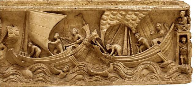 Navio mercante y antigua Roma