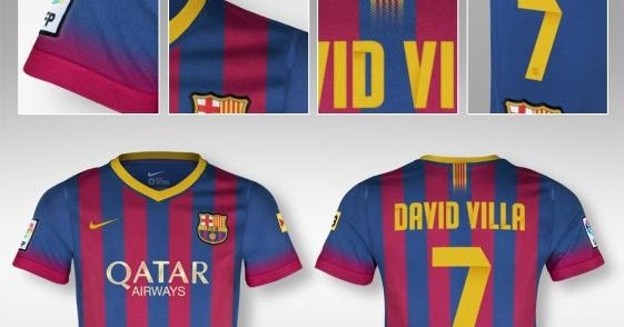 FootliveHD: FC Barcelona Official New Home Kit 2013/2014