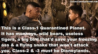 After Earth Will Smith and Jaden Smith conversation photo still meme