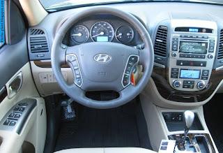 Hyundai santa fe car 2012 dashboard - صور تابلوه سيارة هيونداى سنتافي 2012