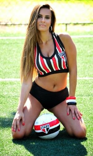 Nivea Kalmar, Bela da Torcida do São Paulo Futebol Clube