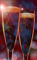 Photo of sparkling champagne
