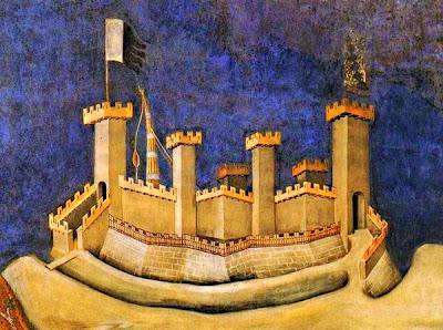 Guidoriccio da Fogliano - Fragment (Simone Martini)