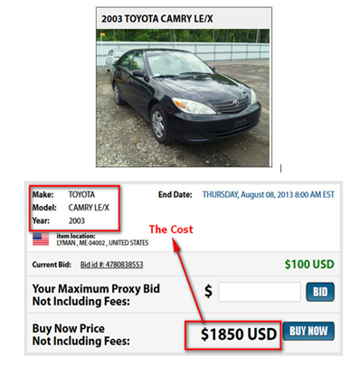 how to make money importing cars to canada
