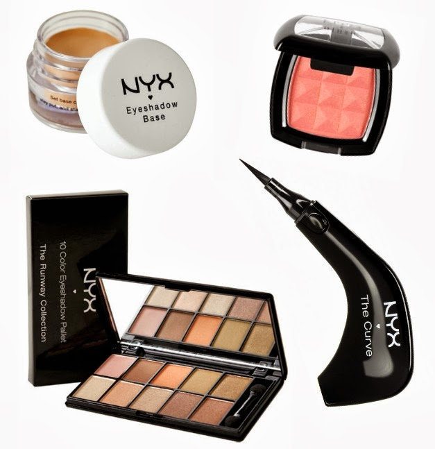 best NYX makeup picks via Va-Voom Vintage