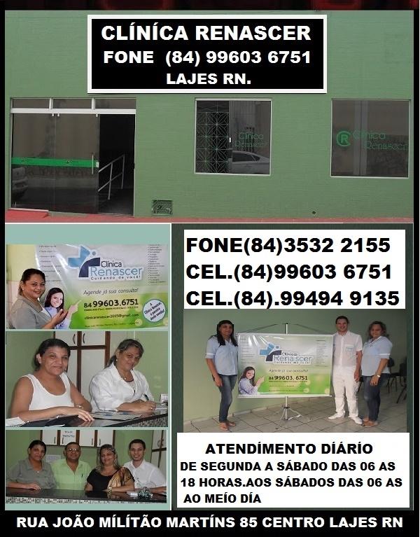 CLÍNÍCA RENASCER CUIDANDO DE SUA SAÚDE LAJES RN