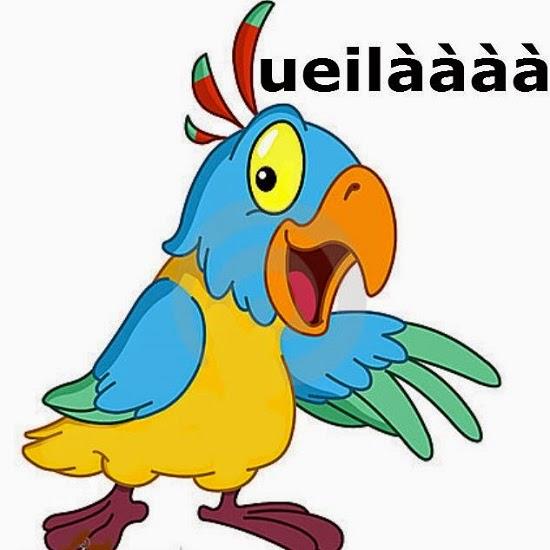 Il pappagallo che ha vissuto in un bordello barzelletta - Animale domestico da colorare pagine gratis ...