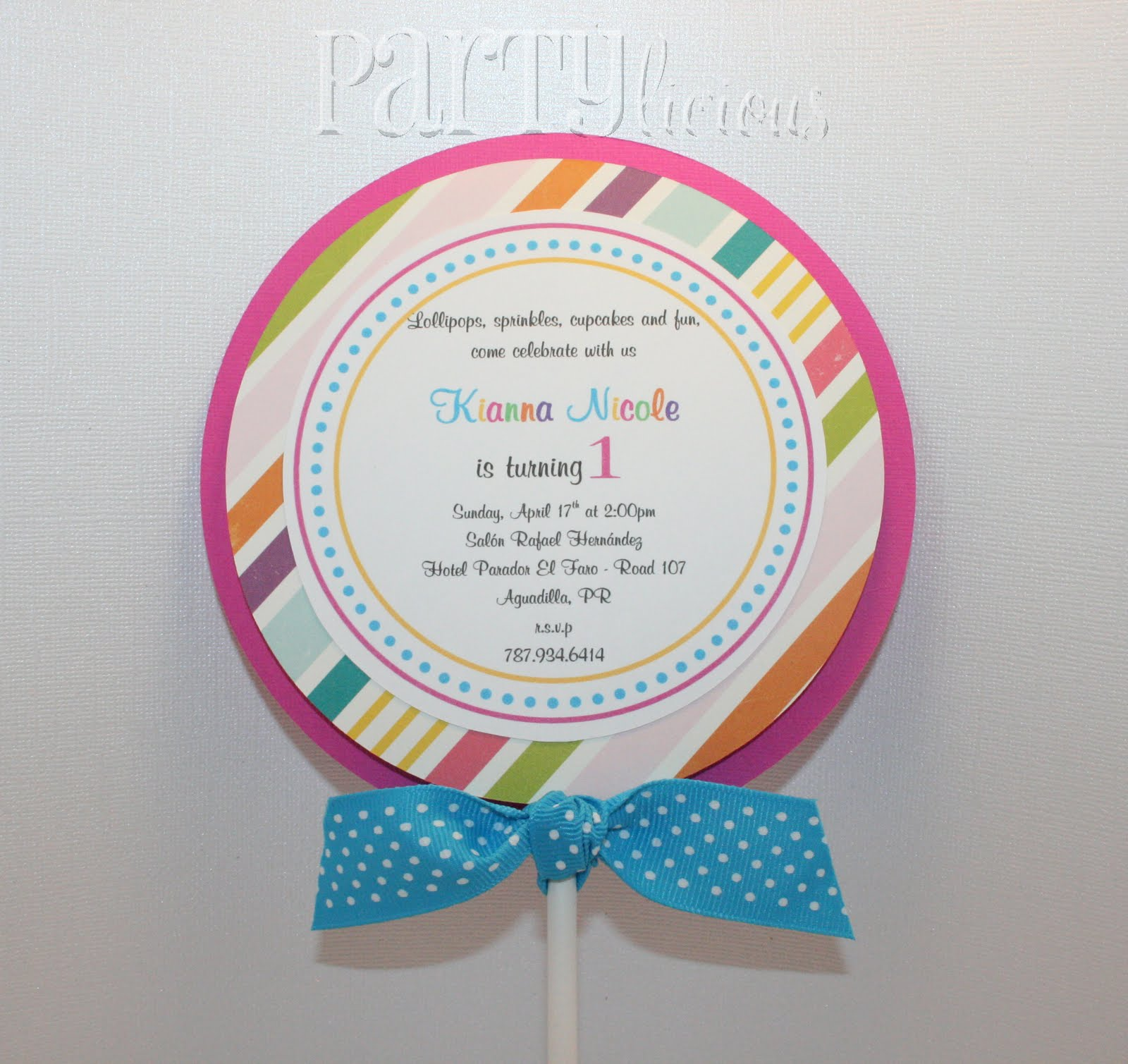 Partylicious Events PR: {Sweet 1st Birthday: Candy & Cupcakes}