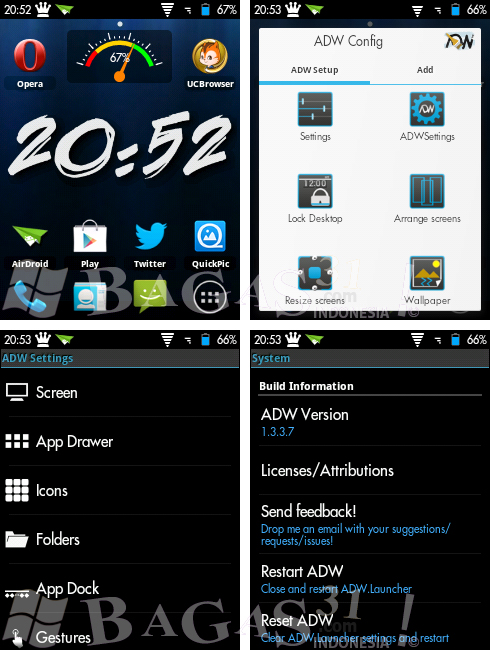 ADWLauncher EX 1.3.3.7 for Android 2