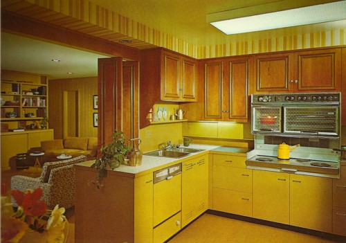 Design du monde decade dictionary for 70s style kitchen cabinets