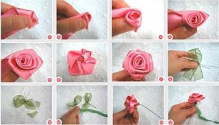 Flores de Tela Paso a Paso, Ideas para Decorar