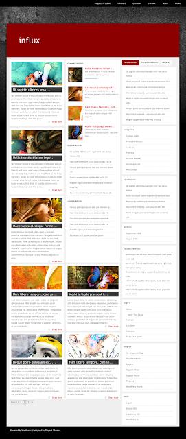 Influx WordPress Theme