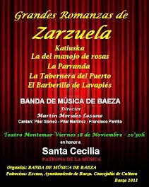 GRANDES ROMANZAS DE ZARZUELA - SANTA CECILIA 2011