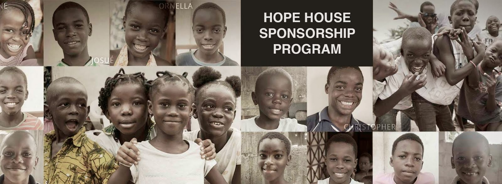 Sponsor Hope House for Abandoned & Orphaned Children today