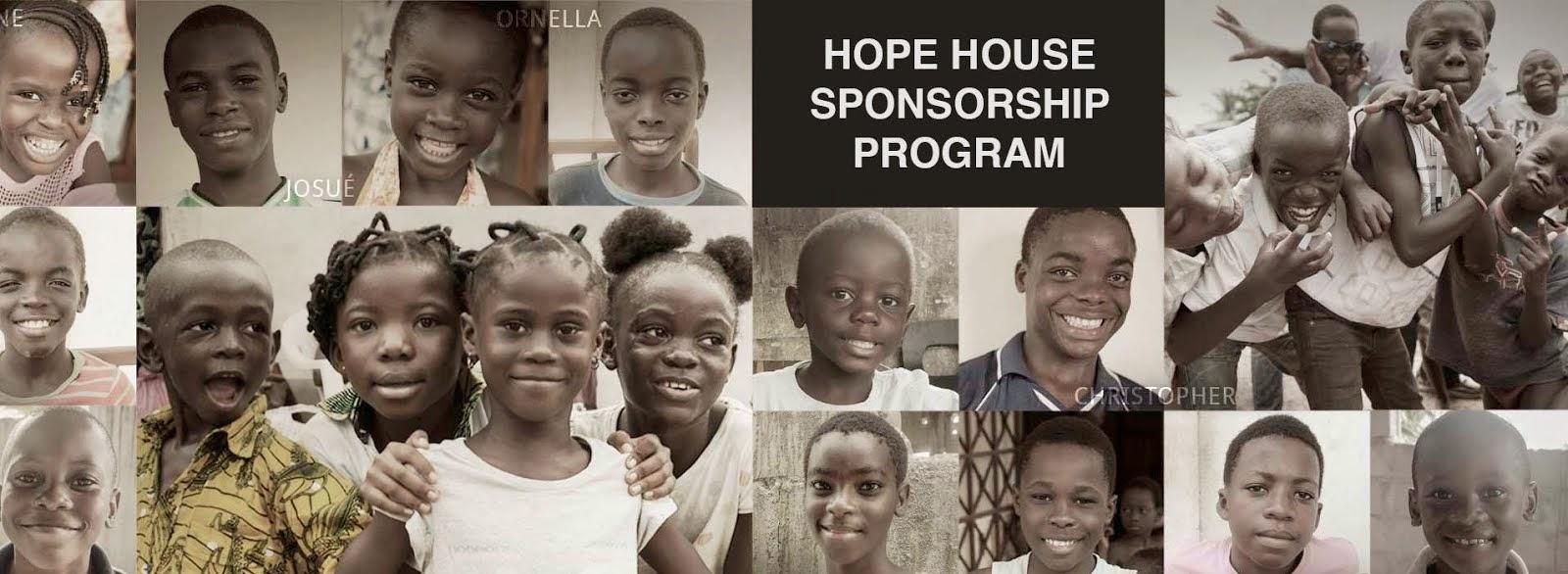 Sponsor Hope House for Abandoned & Orphaned Children today